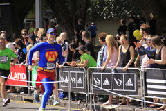 Marathon Run Race Superhero Royalty Free Stock Images