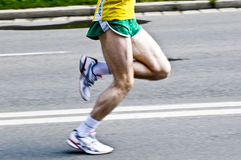 Marathon runner Royalty Free Stock Image