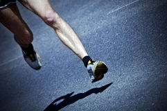 Marathon runner Royalty Free Stock Images