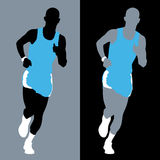 Marathon Runner Royalty Free Stock Photos