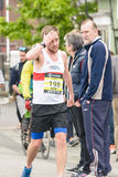 Marathon Runner Daryl Phillips Stock Images
