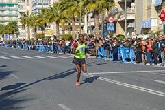 Marathon Runner Stock Images