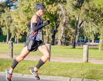 Marathon Runner royalty free stock photography