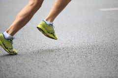 Marathon runner Royalty Free Stock Images