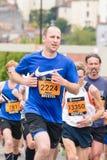 Marathon Runner Nicholas Comer Royalty Free Stock Photo