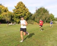 Marathon runner race Stock Photography