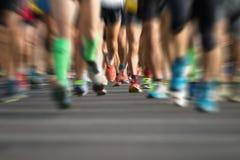 Free Marathon Runners Stock Image - 62553221
