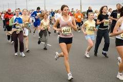Marathon runners Stock Photos
