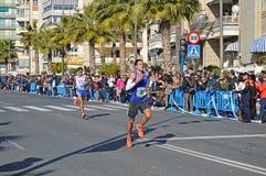 Marathon Runners Royalty Free Stock Images