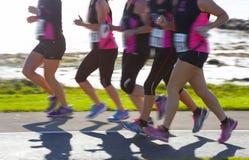 Marathon runners Stock Image