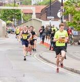 Marathon Runners I5 Stock Photo