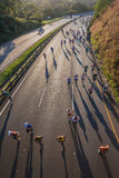 Marathon Runners Comrades Sunrise Stock Photography