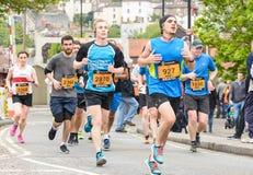 Marathon Runners O3 Stock Photo