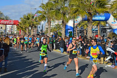 Marathon Runners Royalty Free Stock Images