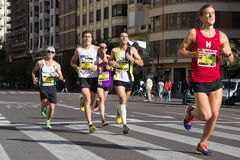 Marathon Runners Royalty Free Stock Photo
