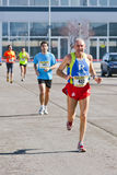 Marathon, running fans Royalty Free Stock Image
