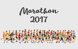Marathon 2017 Stock Photography