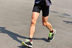 Marathon running race Stock Image