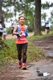 Marathon Fit people running race Royalty Free Stock Photos