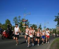 Marathon - Serious Contenders Royalty Free Stock Image