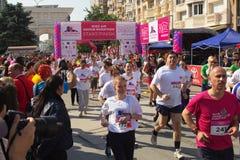 Marathon in Skopje Royalty-vrije Stock Foto
