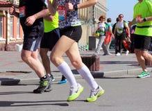 Marathon speed Royalty Free Stock Photo