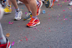 Marathon start Stock Photo