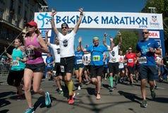 Marathon start-3 Royalty Free Stock Image