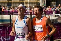 Marathon T12 (sans visibilité) photo stock