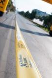 Marathon tape Royalty Free Stock Photo
