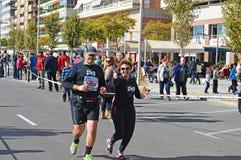 Marathon Thumbs Up Royalty Free Stock Photo