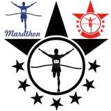 Marathon. Vector illustration (EPS 10 Royalty Free Stock Photos