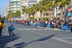 Running Marathon Race Winner Athletics  Stock Photos