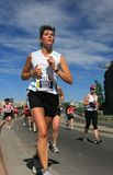 Marathon Woman Royalty Free Stock Photography