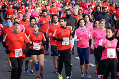 Marathonagent Royalty-vrije Stock Foto