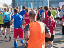 Marathonagenten in Berlijn royalty-vrije stock foto's
