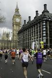 marathone του Λονδίνου χλωρίδας Στοκ Εικόνα