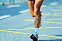 Marathoner Lizenzfreie Stockfotos