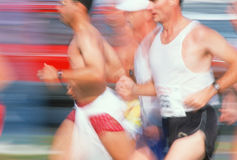 Marathoners Royalty Free Stock Image