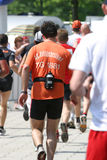 Marathonfinalist Lizenzfreies Stockbild