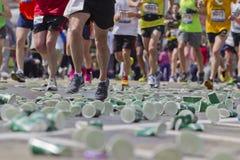 Marathoniens Photographie stock libre de droits