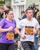 Marathoniens V1 Photo libre de droits