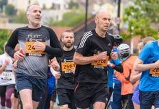 Marathoniens W8 Images libres de droits