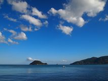 Marathonisi Island (Turtle Island) Royalty Free Stock Images