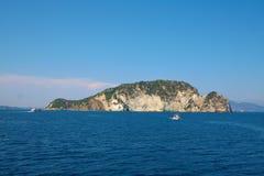 Marathonisi a turtle Island -Zakynthos Stock Photography