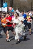 Marathonläufer lizenzfreies stockbild