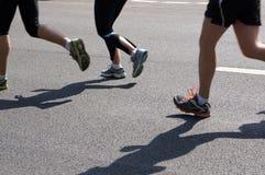 Marathonläufer Lizenzfreie Stockfotografie