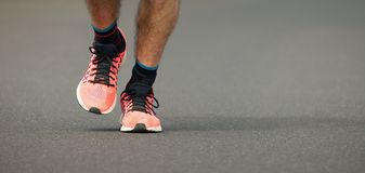 Marathonlaufenrennen Lizenzfreie Stockfotografie