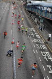 Marathonseitentrieb Lizenzfreie Stockbilder