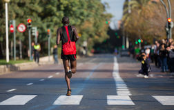 Marathonseitentrieb lizenzfreie stockfotos